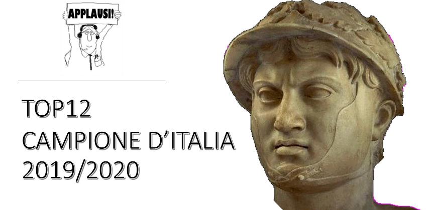 ASSEGNATE IL TITOLO TOP12 2019/2020 ! PER FAVORE SI !