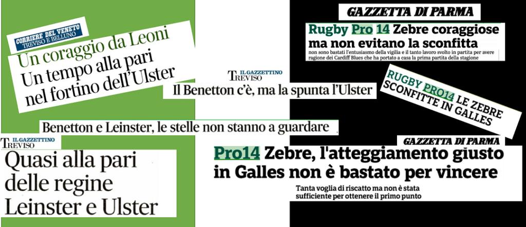 PRO14 MADE IN ITALY: IL COSTO DELLE SCONFITTE ONOREVOLI